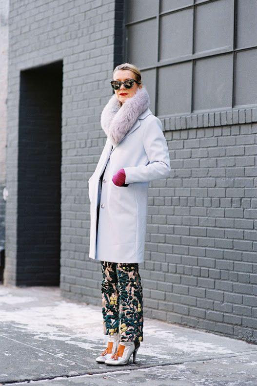 New York Fashion Week AW 2015....Natalie
