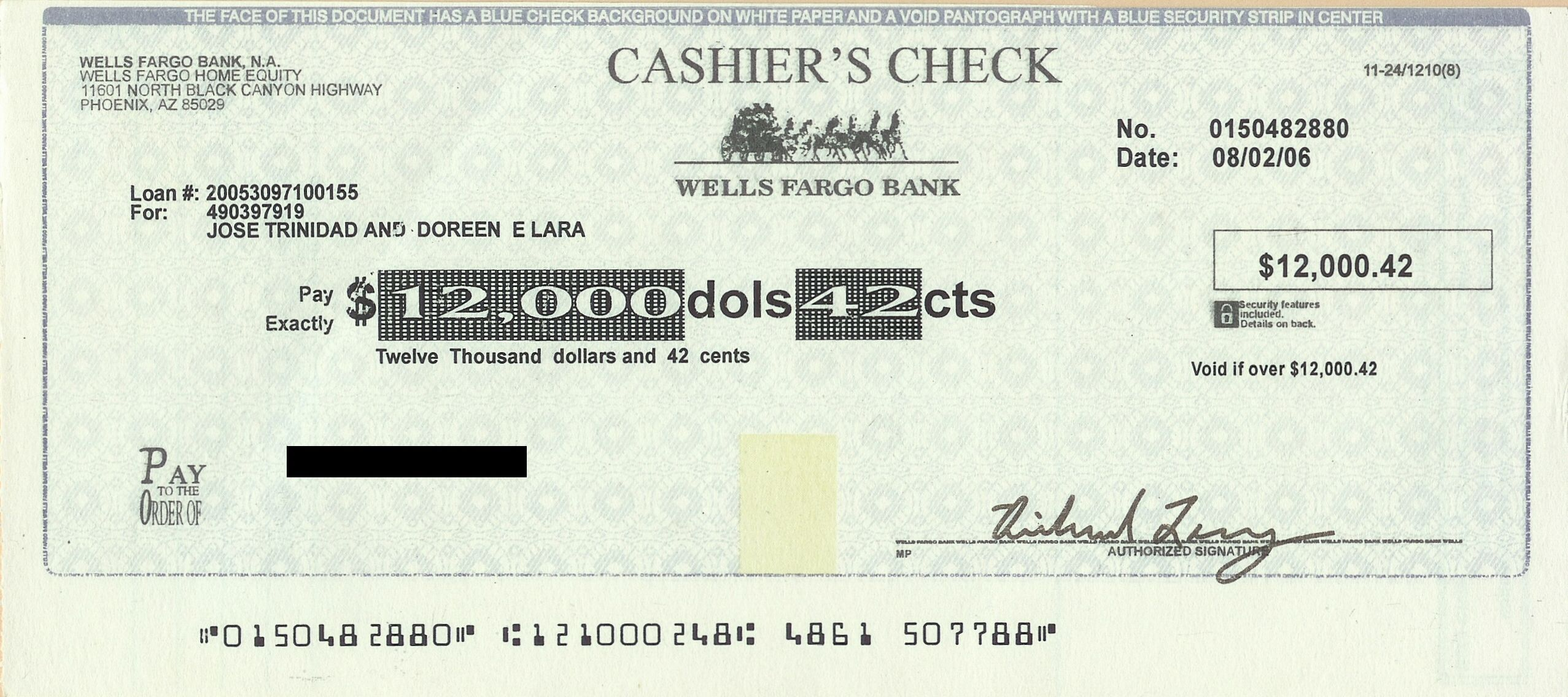 cashiers check can be used to guarantee that money won t bounce it