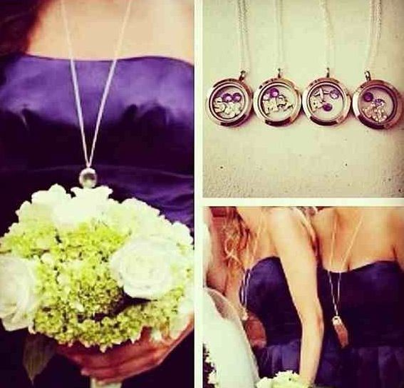Origami Owl Living Lockets make great personalized Bridesmaids gifts!  Check out my webpage: www.maux.origamiowl.com Contact me for discount pricing:  maux.origamiowl@hotmail.com