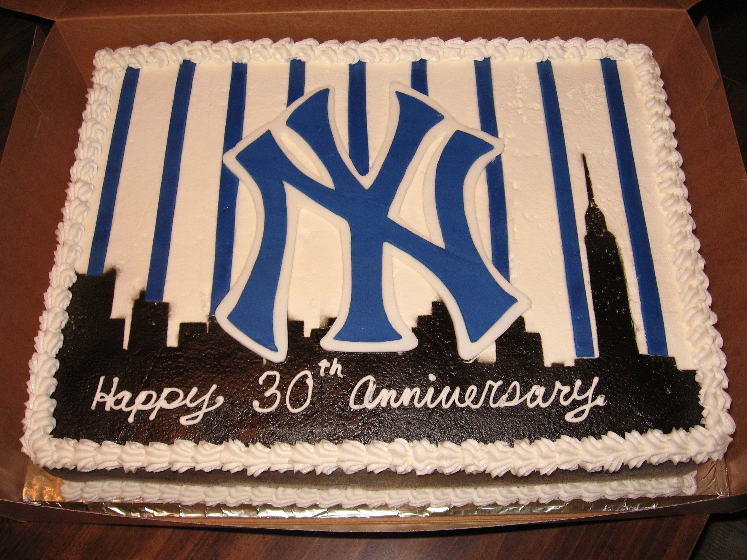 New York Yankees Cake Pictures New York Yankees