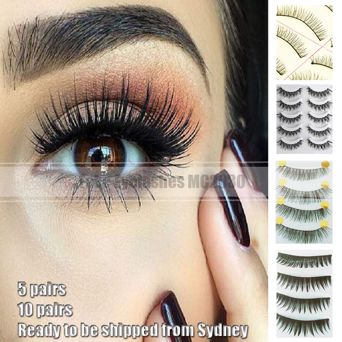 Top 5 False Eyelashes For Naturally DramaticEyes recommend
