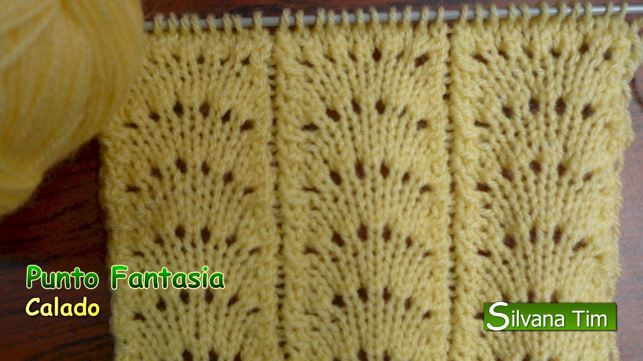 Silvana tim tejido con dos agujas crochet recetas de - Tutoriales de punto con dos agujas ...