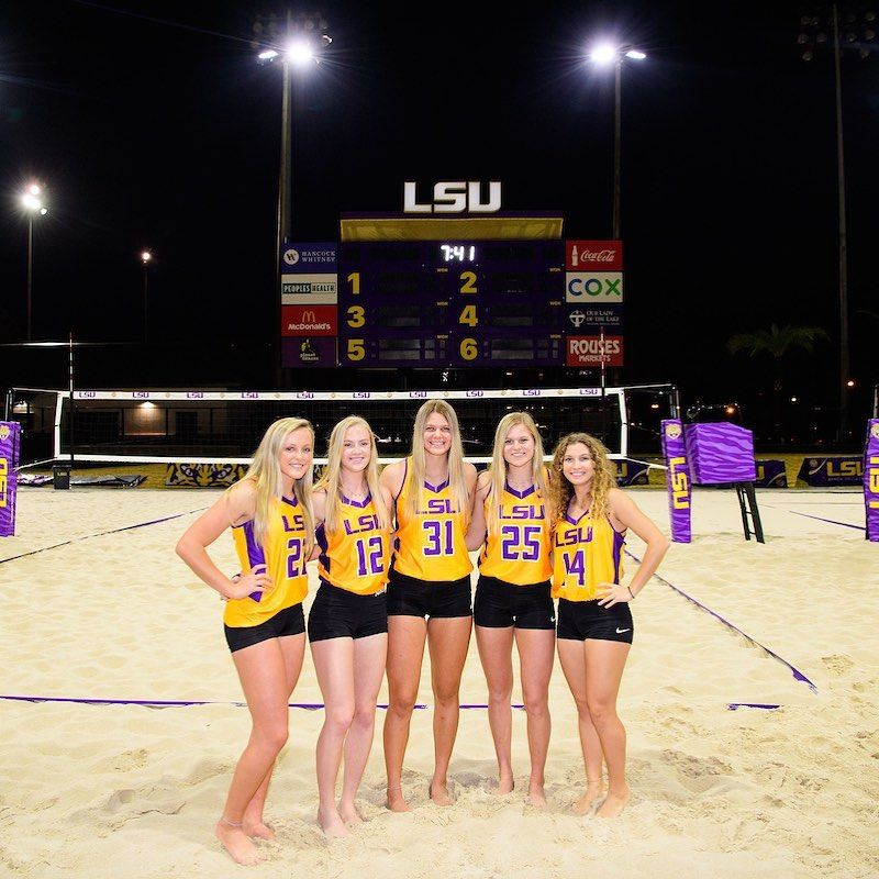 881 Likes 2 Comments Lsu Beach Volleyball Lsubeachvb On Instagram We Can T Wait For This Group To Join Us Next Fall Lsu Beach Volleyball Sports