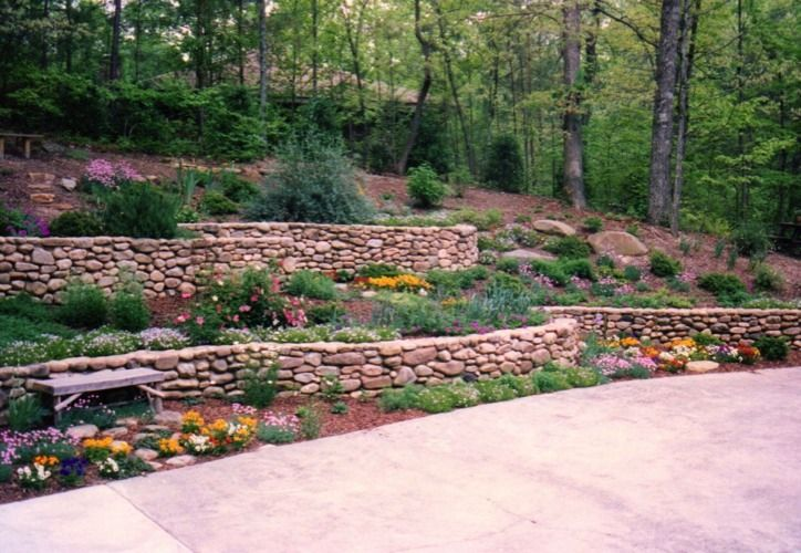 Pictures Of Terraces And Retaining Walls Walls Terraces Pretty