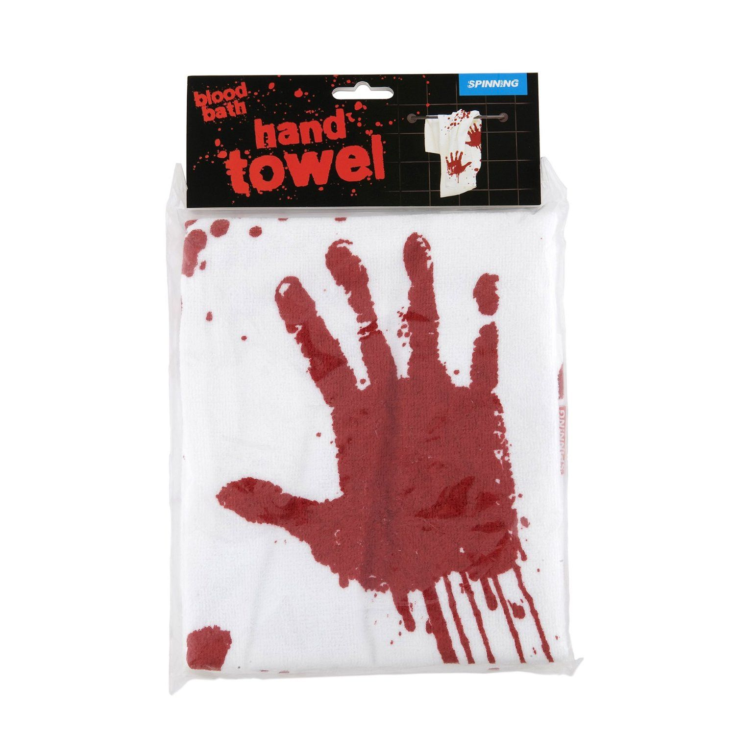 Blood Bath Hand Towel By Spinning Hat