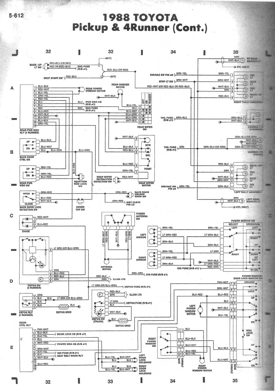88 3vze 5 Speed Wiring Diagram Help Page 2 Yotatech Forums 1988 Toyota