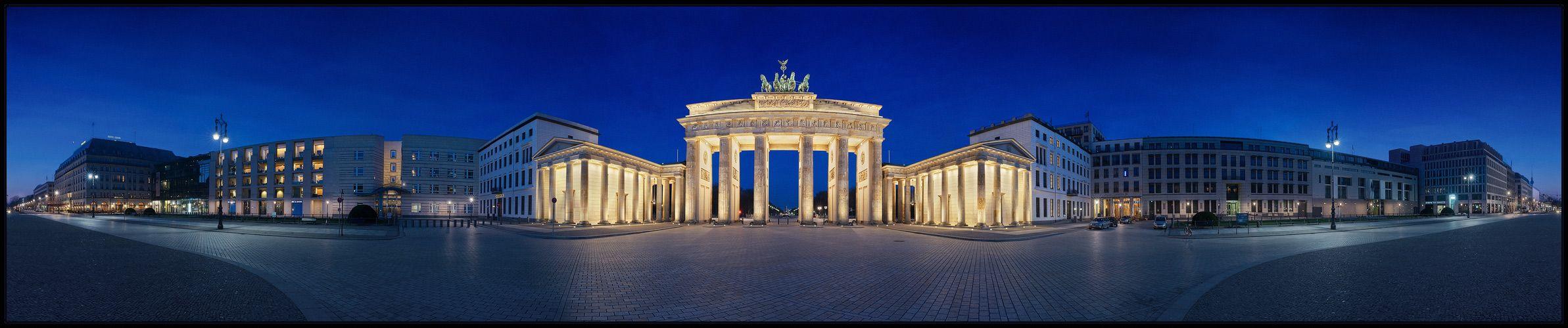 Brandenburger Tor Von Berlin Berlin Fotos Foto Bilder Brandenburger Tor