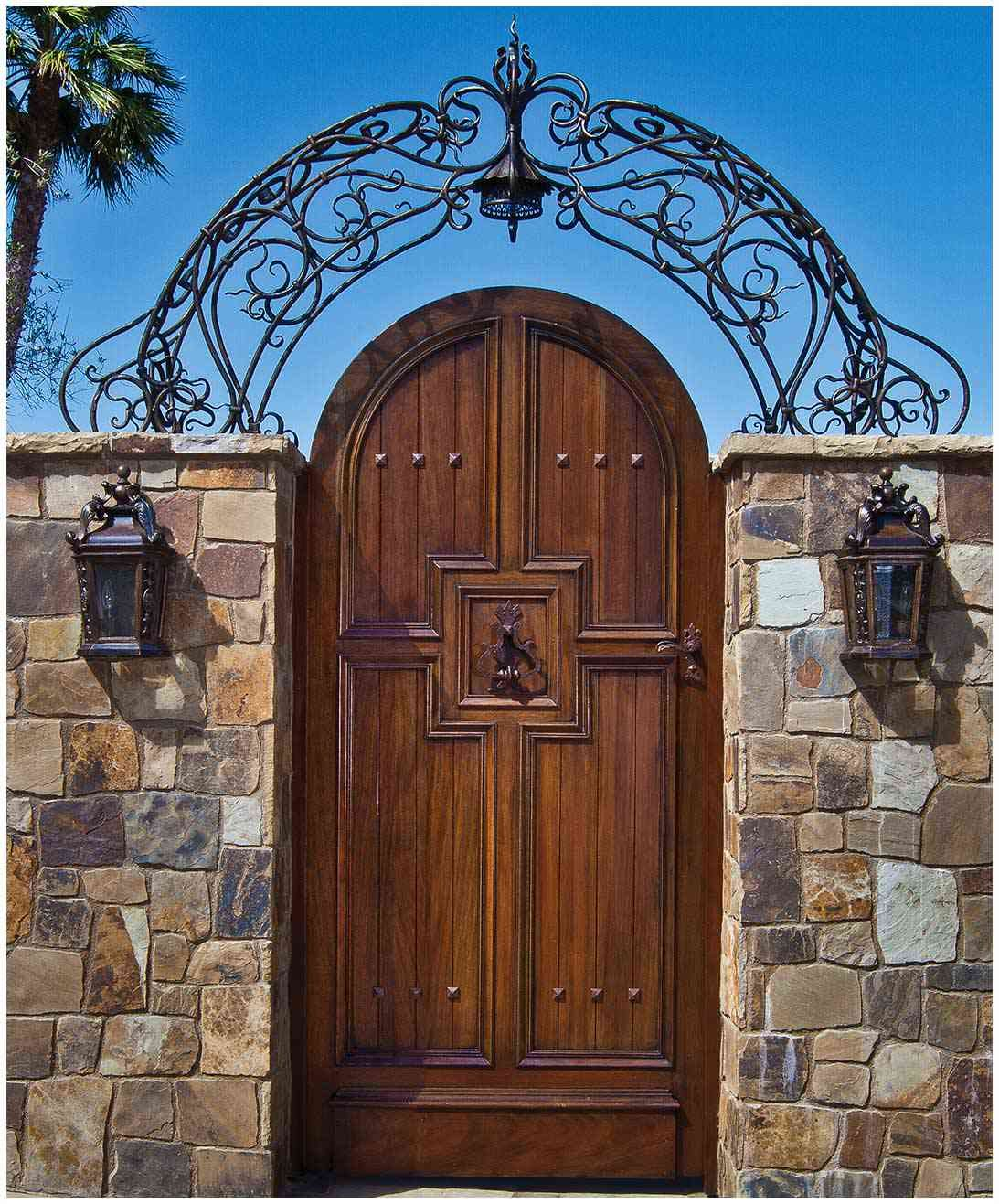 iron gate by LCR Furniture & Design | World decor, Tuscan ...