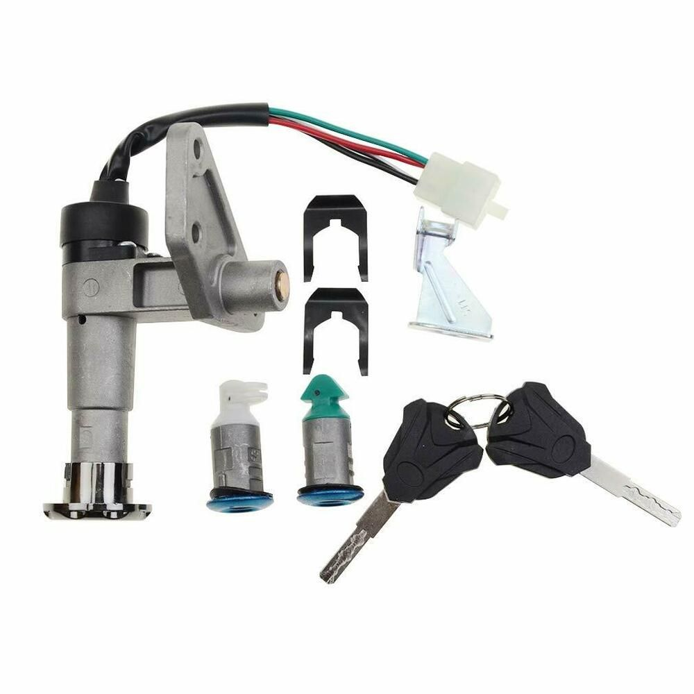 Goofit Ignition Switch Key Set For Gy6 150cc Chinese Scooter Moped New Goofit Chinese Scooters 150cc Scooter