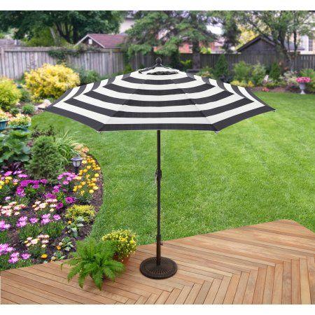 Buy Better Homes Gardens 9 Market Umbrella Cabana Stripe At