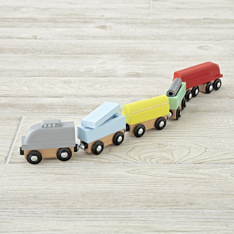 Shop Metro Line Wooden Trains. All aboard, because this exclusive ...