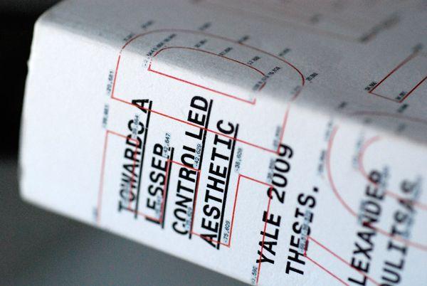Yale Thesi Book By Alexander Rysdon Moulitsa Via Behance Dissertation Format
