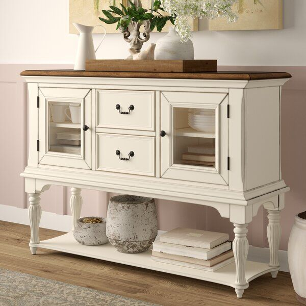 Ellon 56 Wide 2 Drawer Buffet Table Dining Room Buffet Table