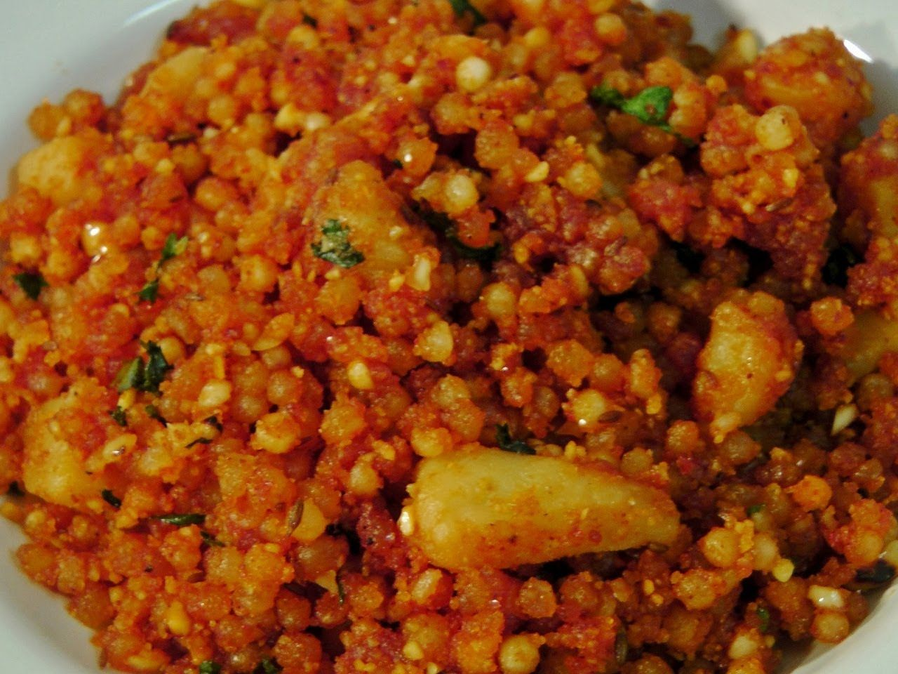 Sabudana Khichadi (with a tip on soaking sabudana