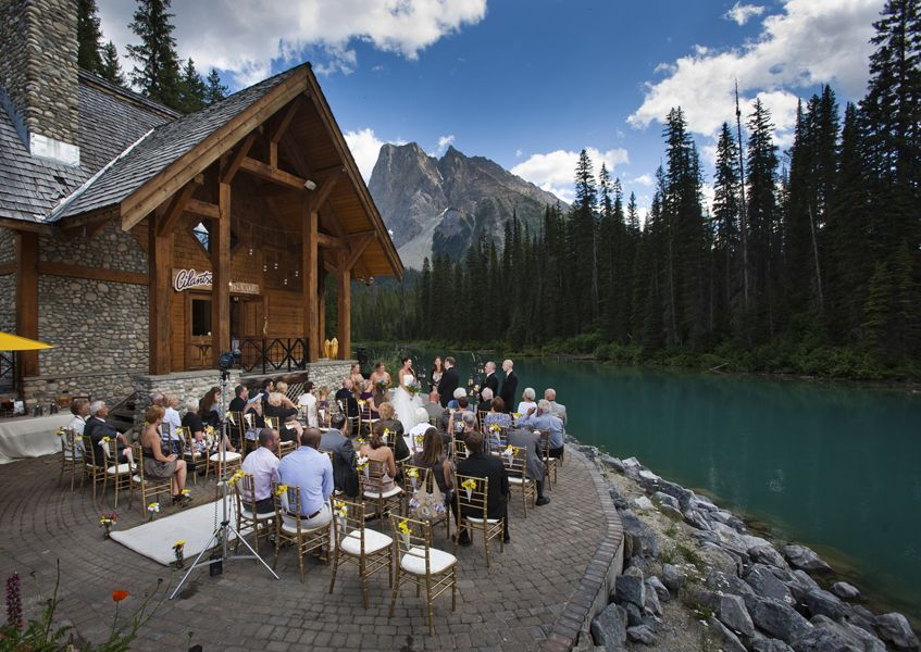 Becky Scot S Fantasy Emerald Lake Lodge Wedding Sweet Occasions Banff