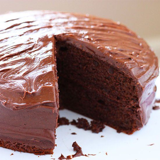 Simple and super moist chocolate cake. It's a Chicago classic recipe!