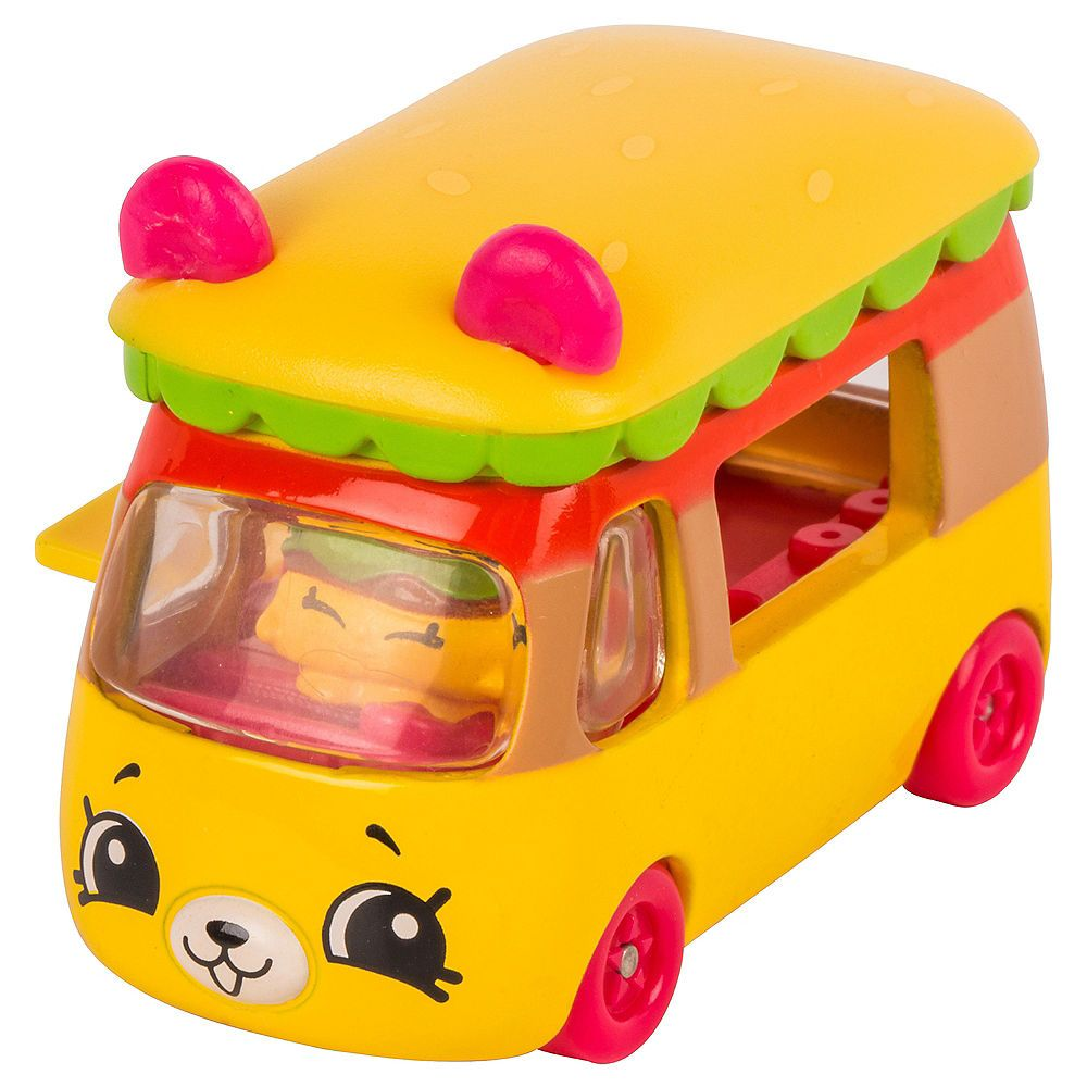 Little car toys  Bumpy Burger Cutie Cars Playset pc  Shopkins in   mcdonalds
