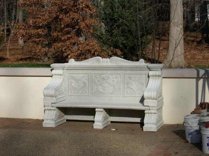 # 4201 GRAND RENAISSANCE BENCH Delivered and Setup by Garden Creations