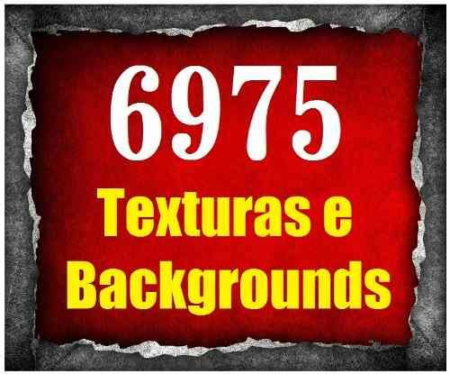 6975 Texturas E Backgrounds - 2 Dvds - Lançamento