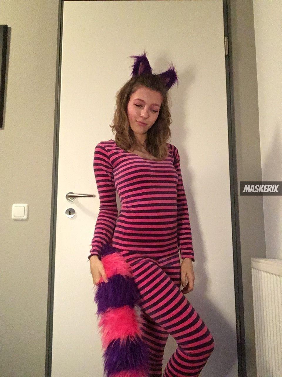 Grinsekatze Kostum Selber Machen Alice I D Pinterest Kostum