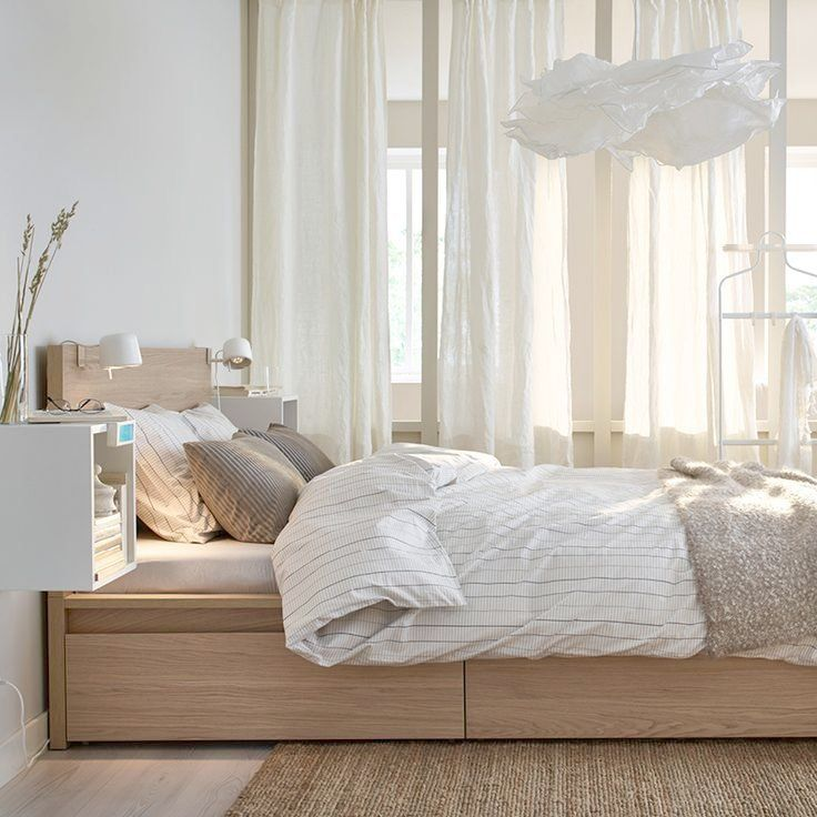 Good Ikea Malm Bedroom Ideas Malm Bed Frame High W 4 Storage Boxes White Stained Oak Veneer Luroy Lit Rangement Lit Avec Rangement Integre Cadre De Lit Bedroom ideas white oak