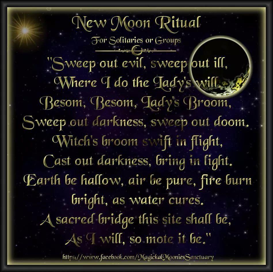 New moon ritual   Moon Spells   Moon spells, New moon rituals, Moon