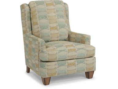 Flexsteel Fabric Chair 0119 10 Living Room Chairs Chair Fabric Contemporary Living Room Furniture
