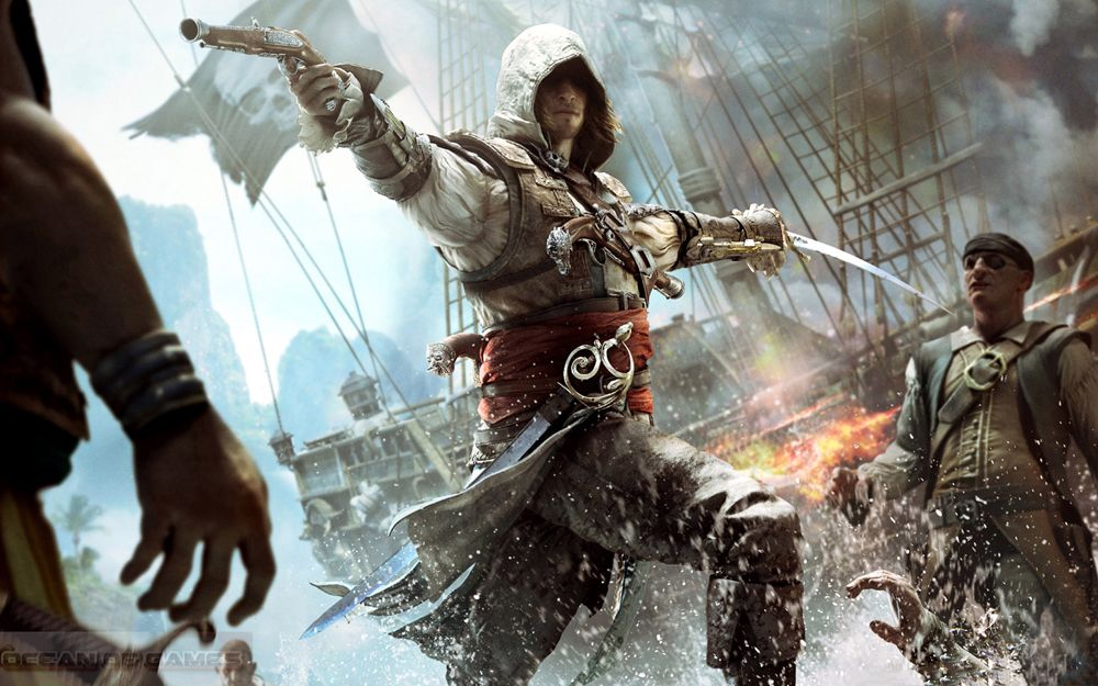 Assassins Creed Iv Black Flag Setup Download For Free Assassins Creed Black Flag Assassin S Creed Black Assassins Creed
