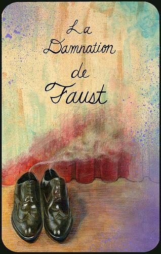 """La Damnation de Faust (La condenación de Fausto) es una obra para orquesta, voces, y coro, compuesta por Hector Berlioz, quien la llamaba """"légende dramatique"""". Es una obra entre la ópera y la sinfonía coral."""