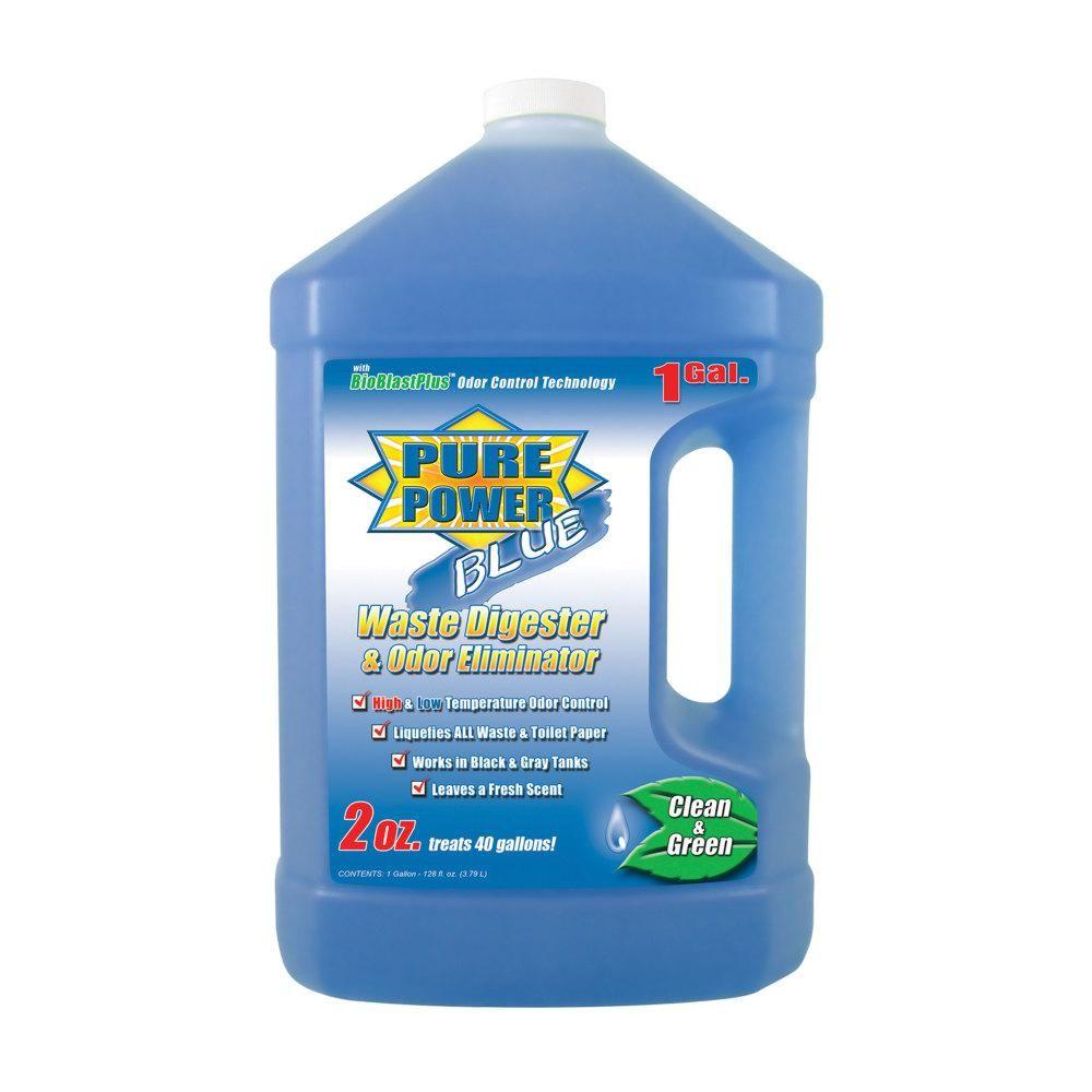 Valterra Pure Power Blue Waste Digester And Odor Eliminator 128 Oz Odor Eliminator Pure Products Pet Odor Eliminator