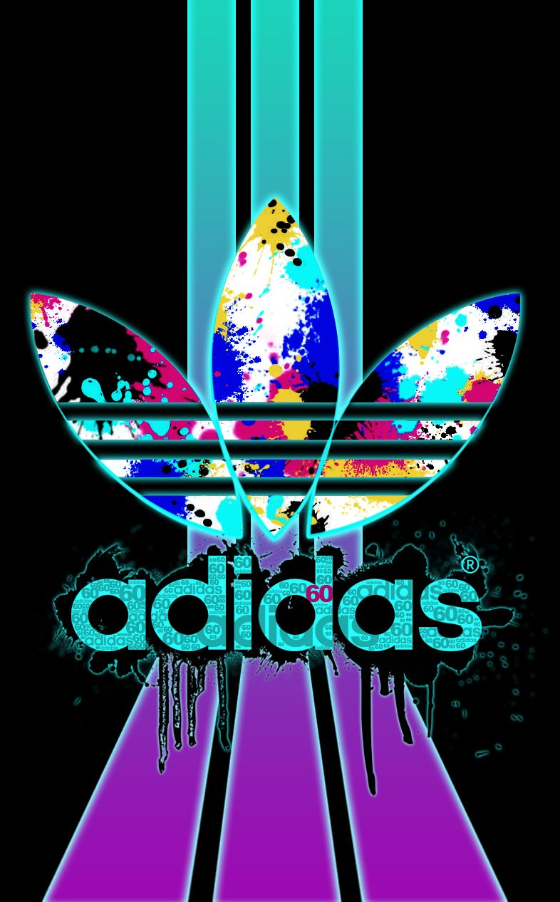 adidas fond d 39 ecran iphone wallpaper tendance logo fashion cran pinterest. Black Bedroom Furniture Sets. Home Design Ideas