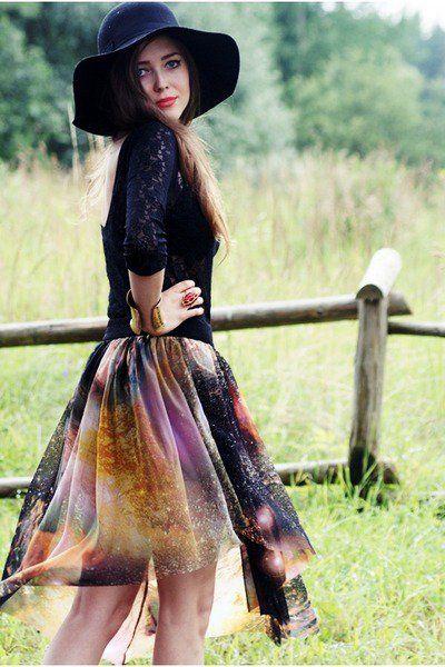 Galaxy Inspiration  #galaxy #prints #fashion