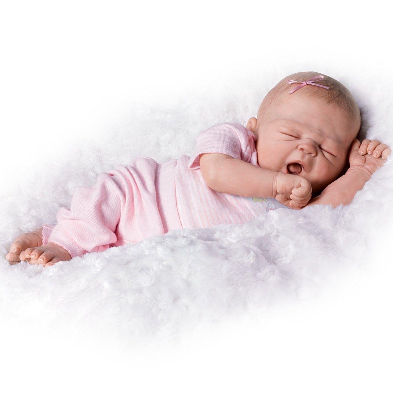 Ashton Drake Sleeping Beauty Doll: Ashton Drake Violet Parker So Truly Real So Sleepy Girl