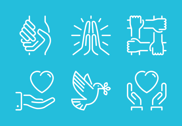 Need A Helping Hand Icons By Pixel Bazaar Hands Icon Helping Hands Pixel
