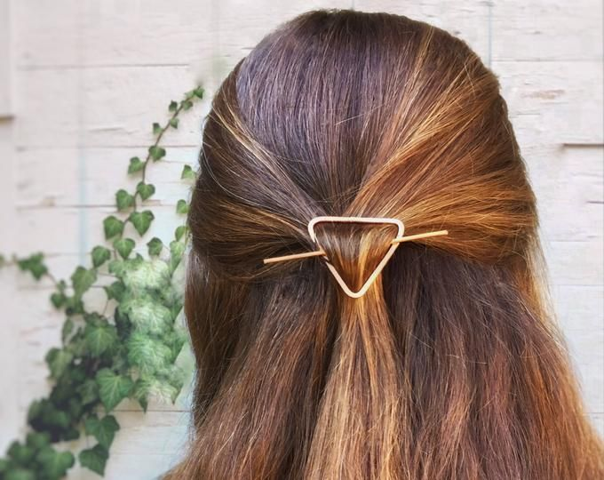Cat Hair Pin // Bun Holder // Whiskers Hair Slide   Etsy
