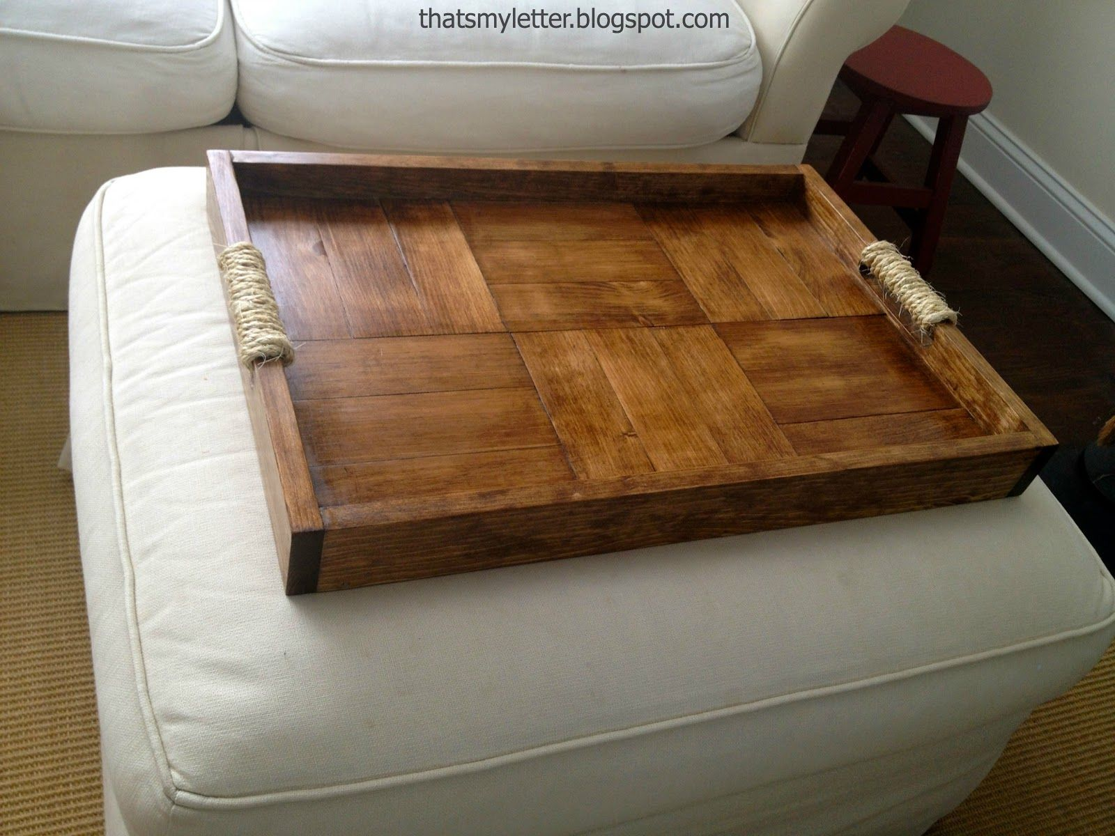 Diy Ottoman Tray Ottoman Tray Diy Ottoman Coffee Table Rectangle