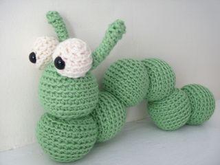 Amigurumi Caterpillar : Amigurumi alastair the caterpillar pattern by stacey trock