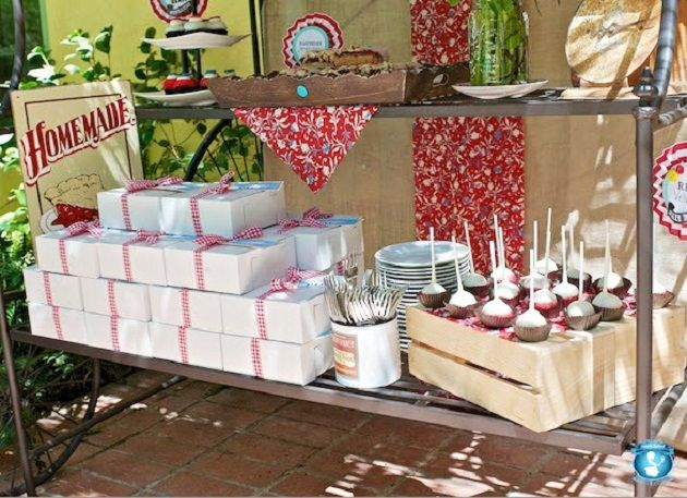 Elegant Picnic Baby Shower With A Vintage Country Theme