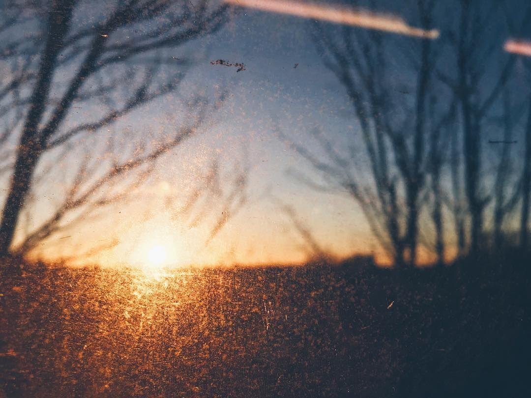 Miho On Instagram Sunrise Through A Train Window