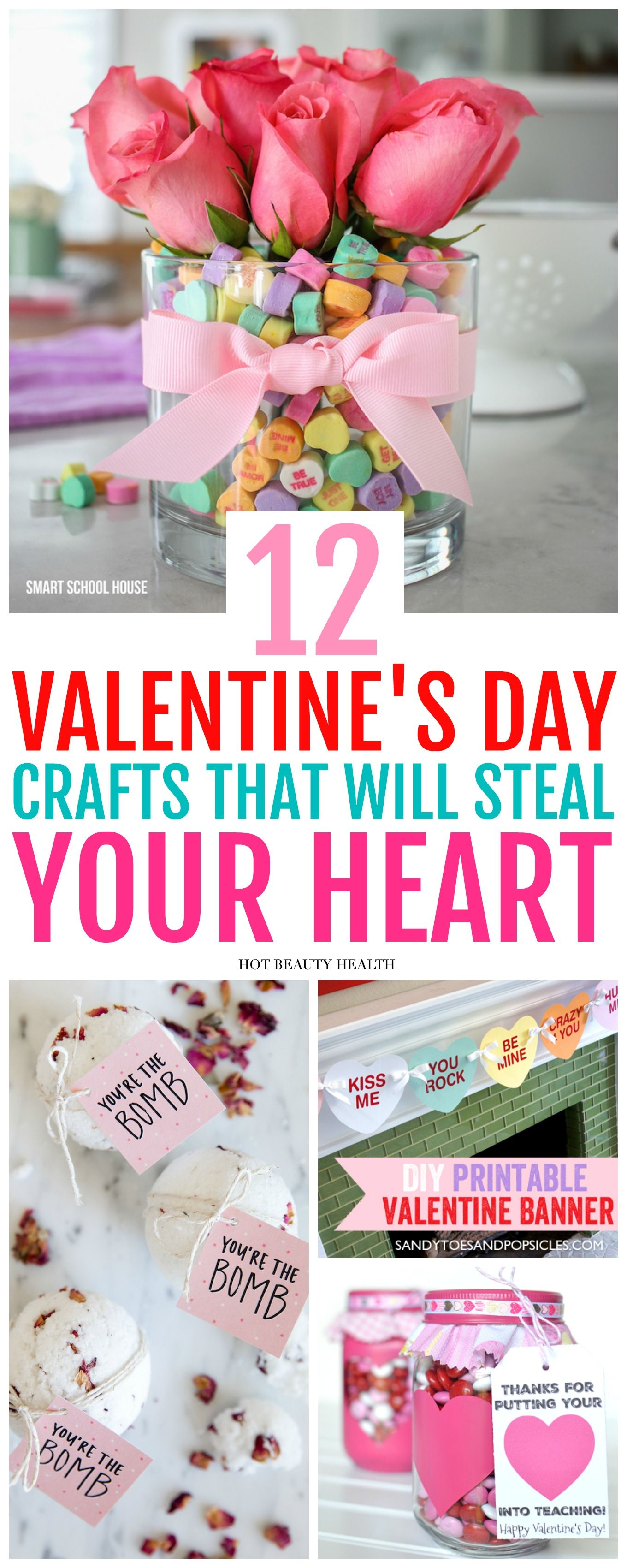 12 Diy Valentine S Day Projects To Create Hot Beauty Health Valentines Diy Valentine S Day Diy Valentine Day Crafts