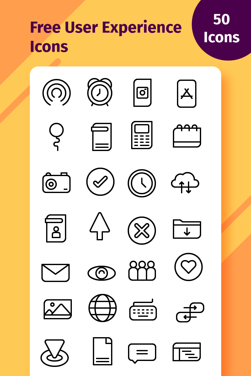 Free User Experience Icons User Experience Free Icon Packs Icon