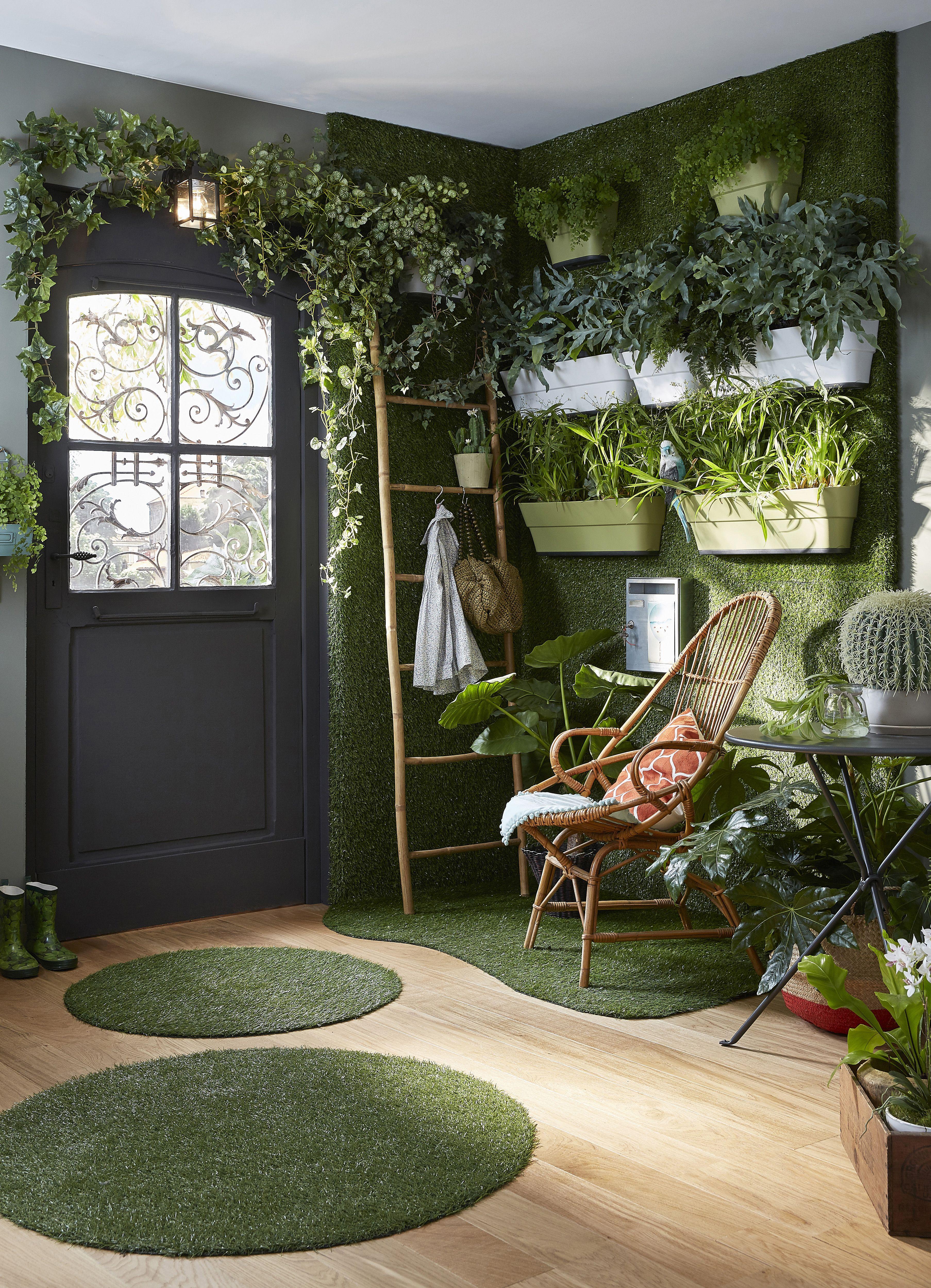 Offrez-vous un jardin en intérieur, en osant un mur végétal réalisé ...