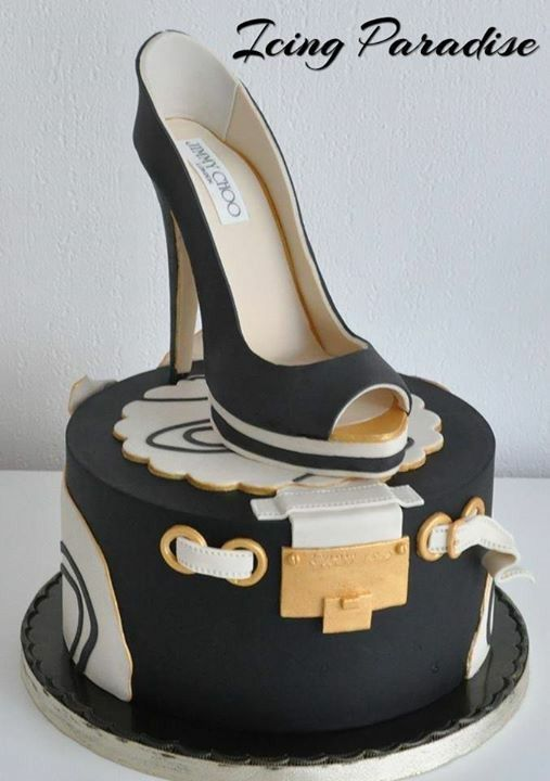 Cake Designs Shoes Handbags : Tortas torty Pinterest Cake, Birthday cakes and Cake ...