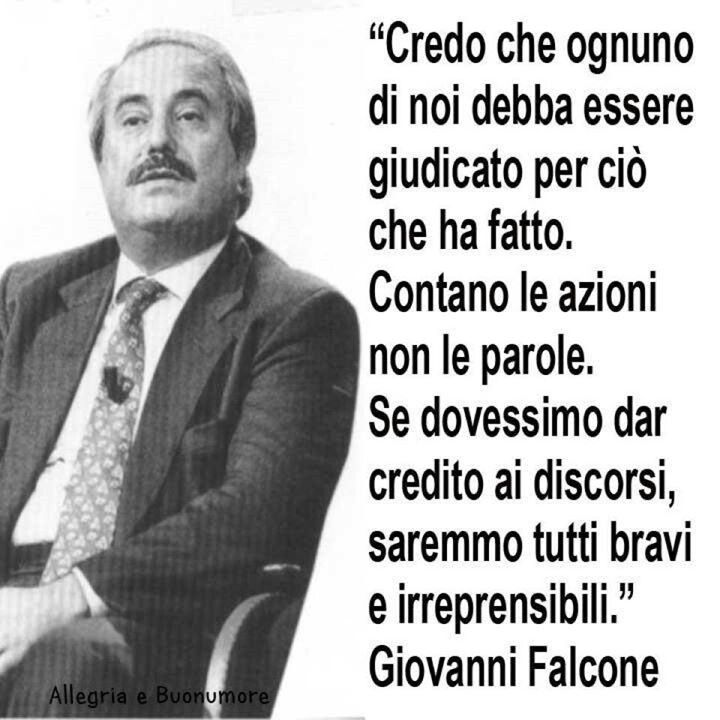 20 years later....don't forget....Giovanni Falcone- Paolo ...