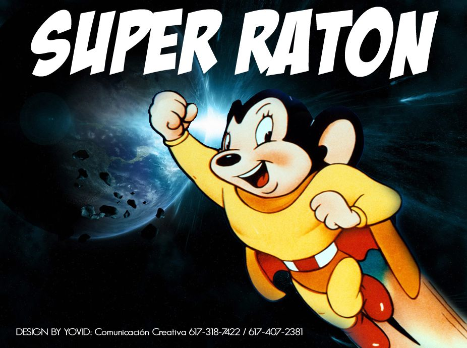 Super Raton Looney Tunes Characters Mighty Mouse Disney Characters