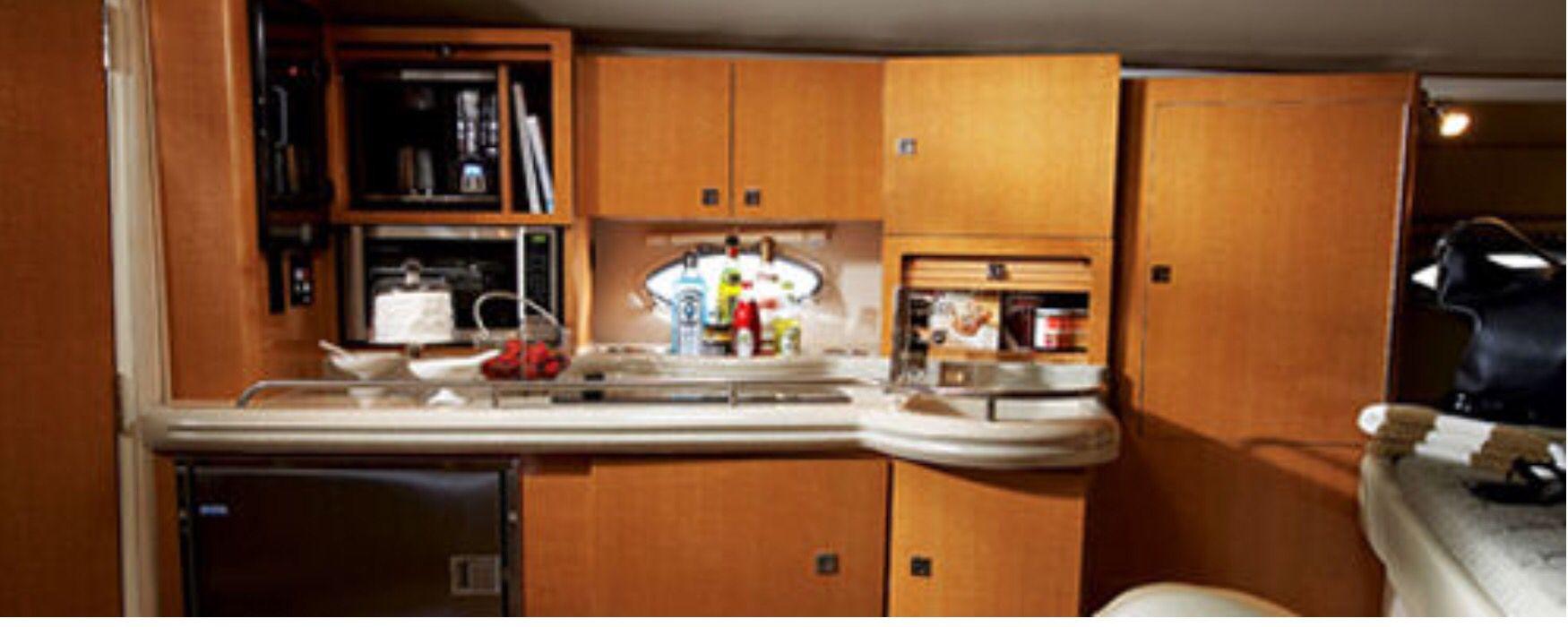 Galley   Kitchen cabinets, Cabin cruiser, Home decor