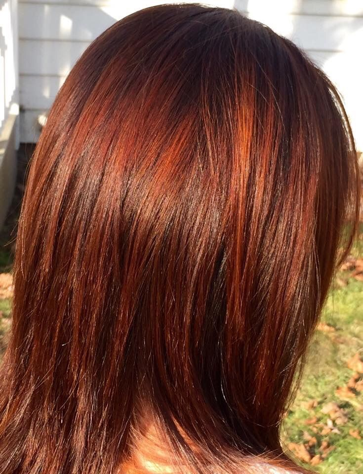 Copper Connection Iamgoldwell Colormelt Reds Goldwell Glaze