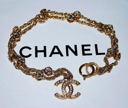 Authentic Chanel Vintage Signature CC Emblem by