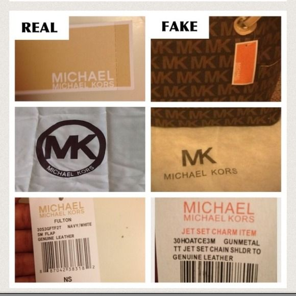 Michael Kors Other How To Spot A Fake Mk Bag Item 4