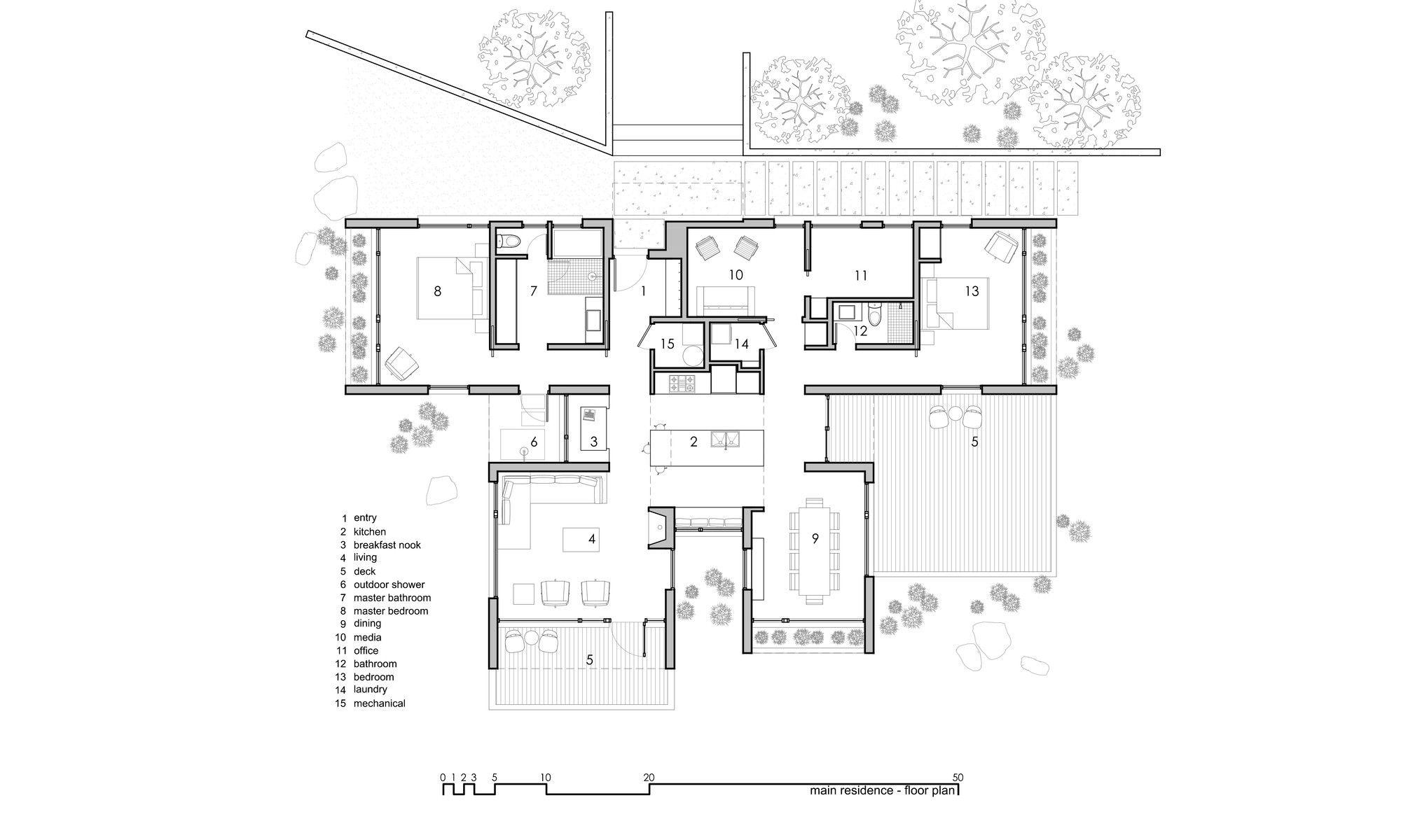 Gallery of capitol reef desert dwelling imbue design 17 plans i like plan maison - Maison pasture par imbue design ...
